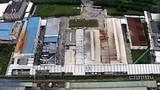 20140803-航拍江苏昆山工厂爆炸现场