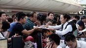 台风海燕致航班大面积取消 千余人滞留海南三亚