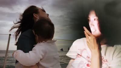 章子怡与女儿语音对话