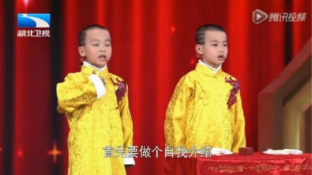 5岁双胞胎相声,真叫一绝