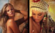 性感嫩模布莱克叶·海楠泳装写真