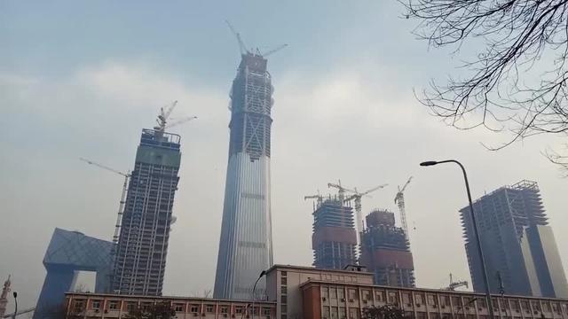 北京新地标CBD 中国尊