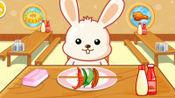 欢乐美食街,兔一一吃吓、狮子先生要吃冰淇淋!宝宝巴士游戏