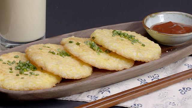 自制蛋香米饼十分香脆