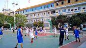 篮球赛:老堡乡中心校队VS同乐乡中心校队
