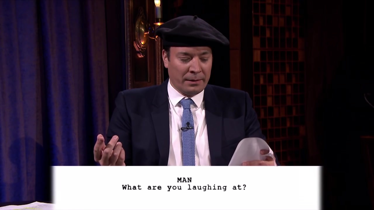 jimmy fallon Kid Theater with Tom Hanks