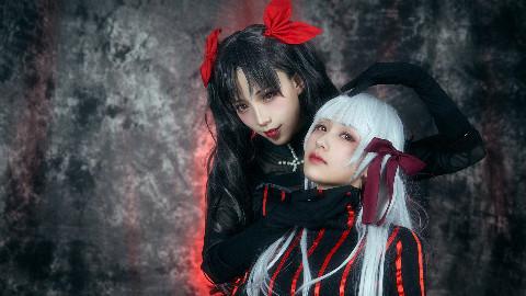 【南华团】fate黑白花·远坂凛X间桐樱·孑然妒火·充满嫉妒的一人捉迷藏(冥冥生日作)