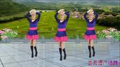 蓝天云广场舞  健身舞《叹情歌》正面演示