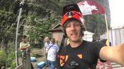 骑自行车下天门山 29.94秒降999级天梯