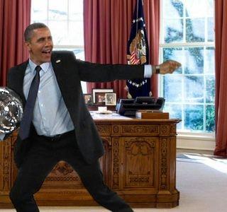 没想到你是这样的奥巴马!