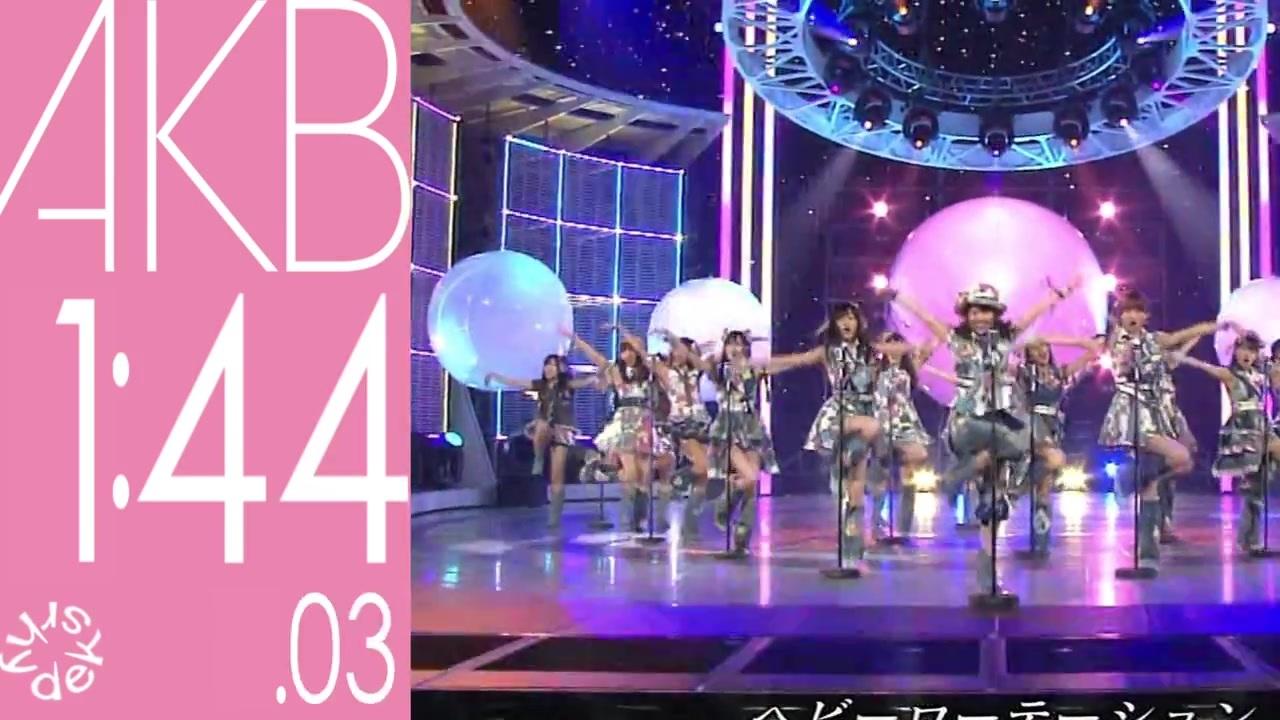 [祝10周年!!]AKB48single medley Ramen timer3分Ver.(MAYUYU渡辺麻友推camera