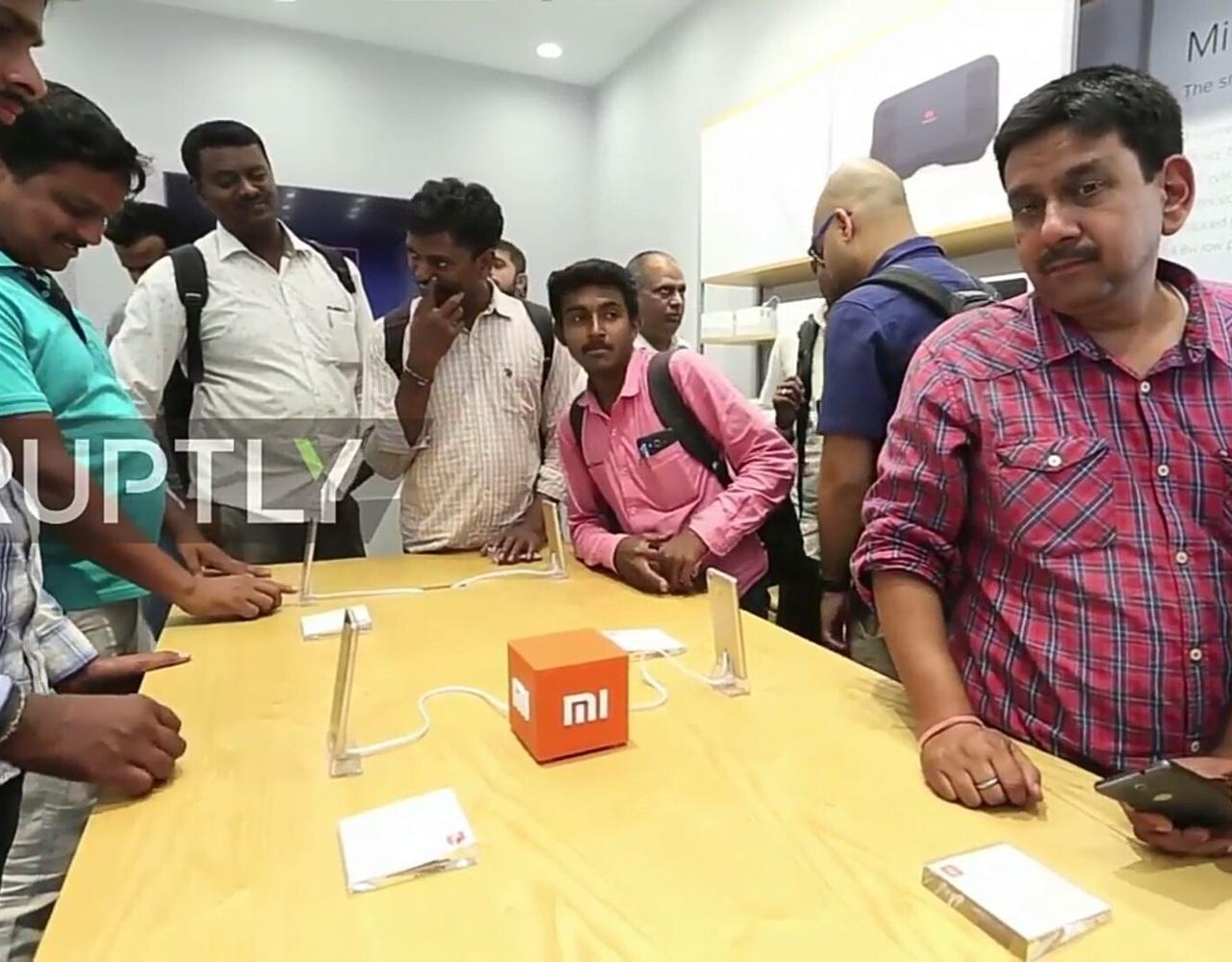 小米在印度开设首个线下体验店《小米之家》