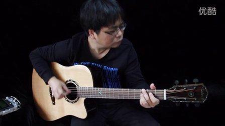 吉他指弹【再见】阿涛代言蔚乐器吉他Dadarwood