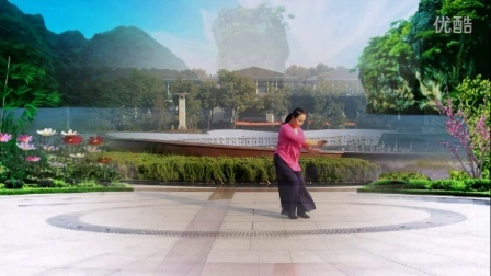 红领巾水云间广场舞《假如爱有天意》习舞:云水间