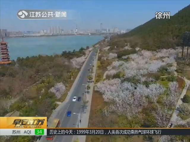 春风里的江苏大地