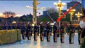 4月1日早晨5点58分北京天安门广场,不一样的升旗仪式,太震撼了
