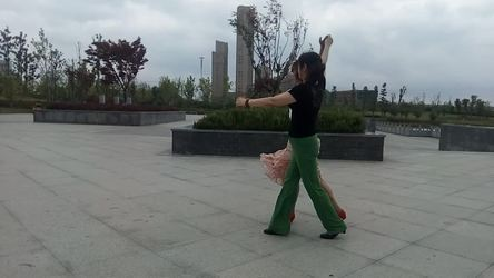 《错爱情歌 表演 团队版》快乐辣妈广场舞队