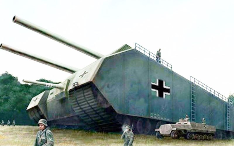 【讲堂58期】bigger than bigger,比鼠式坦克还大数倍的巨鼠坦克