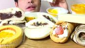 ☆ Yumaゆま ☆ 7月第三周罗森便利店的新品甜点(品名在简介) 食音咀嚼音