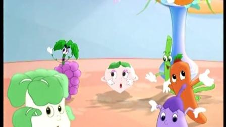 蓝猫快乐活动幼儿园 17 蔬菜水果分分家