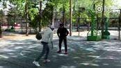 王源秒拍 170413发布秒拍:你开不开心 不开心我投个篮给你看