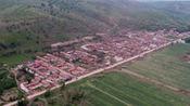 航拍内蒙古赤峰克什克腾旗和翁牛特旗遭受龙卷风袭击后灾区