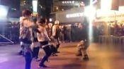 韩娱-BTOB参与全美超模大赛录制 教《嘀嘀铛铛》舞蹈