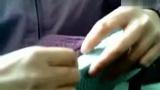 手工编织棒钩针 钩拖鞋4 视频