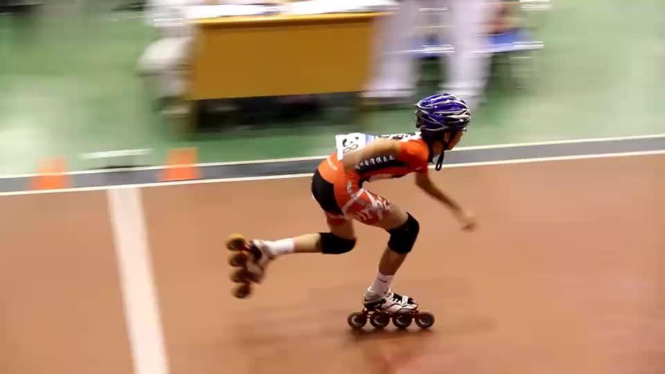 2011海宁速度轮滑 少年男乙300米538