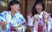惊奇日本:夏日美女与围炉里与火锅