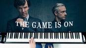《神探夏洛克》主题曲《The game is on》钢琴版