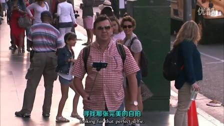 【吉米鸡毛秀】摩根·弗里曼为星光大道上的路人加持旁白光环 @柚子木字幕组