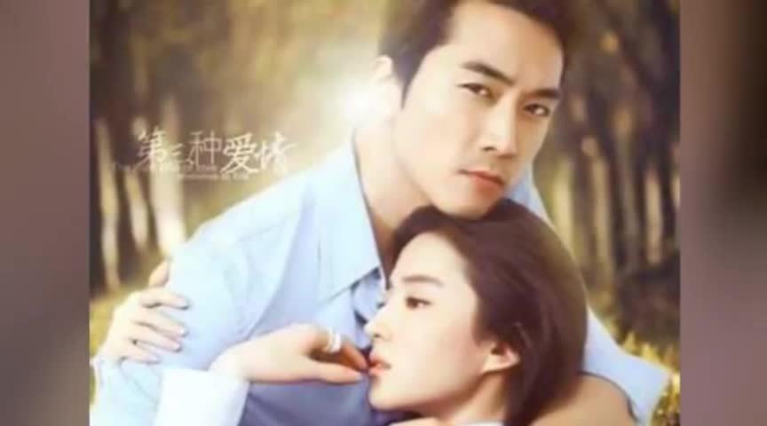 刘亦菲与神秘男子同游香格里拉 长相粗旷贴身陪伴