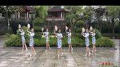江西江财飞悦广场舞+旗袍美人