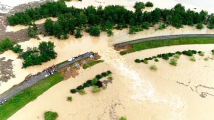 湖南汛情告急,湘江超历史最高水位