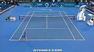 WTA悉尼站决赛HL:拉德万斯卡VS孔塔