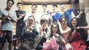 郑恺晒同学聚会照片,除了陈赫李佳航你还认识谁?