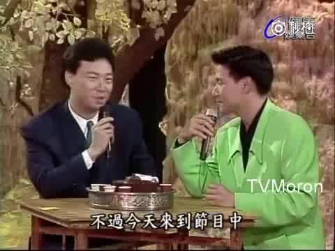 """张学友93年与费玉清合唱《偏偏喜欢你》二人用""""自带混响""""!"""