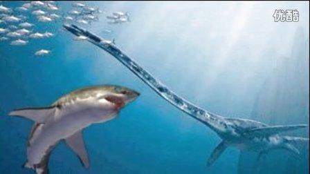 大海解说 方舟生存进化 巨齿鲨作死激战蛇颈龙