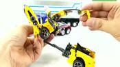 英雄玩具 擎天柱带来大黄蜂一起变形成机器人玩具