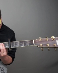 许嵩《清明雨上》吉他指弹
