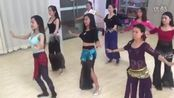 青海毛毛肚皮舞工作室中午班初级学员初级舞蹈《安娜》