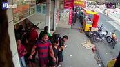 巴西劫匪抢劫彩票店,还用25人当肉盾