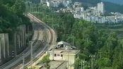 贵州大山里的铁路奇观,火车绕了四个大圈才下山,也太绕了吧!