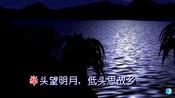 """《静夜思》李白 视频朗诵""""举头望明月 低头思故乡"""""""