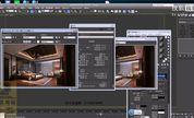 3dmax室内设计教程3d室内设计教程 镜子材质调节