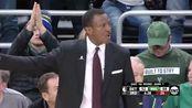 NBA季后赛NBA零距离字母哥罚球线起跳扣篮