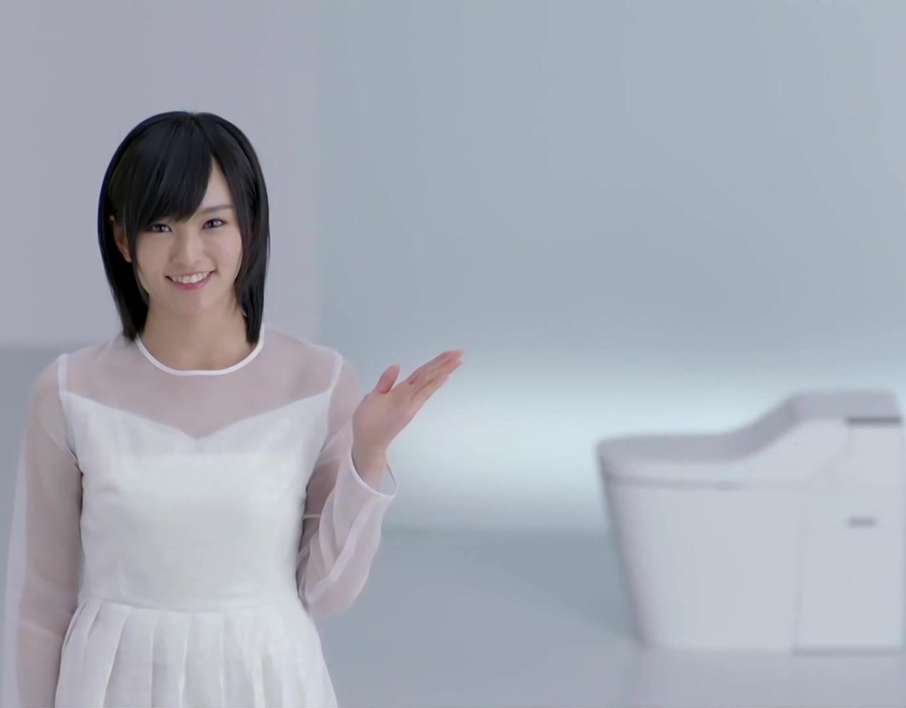 NMB48 山本彩 CM Panasonic