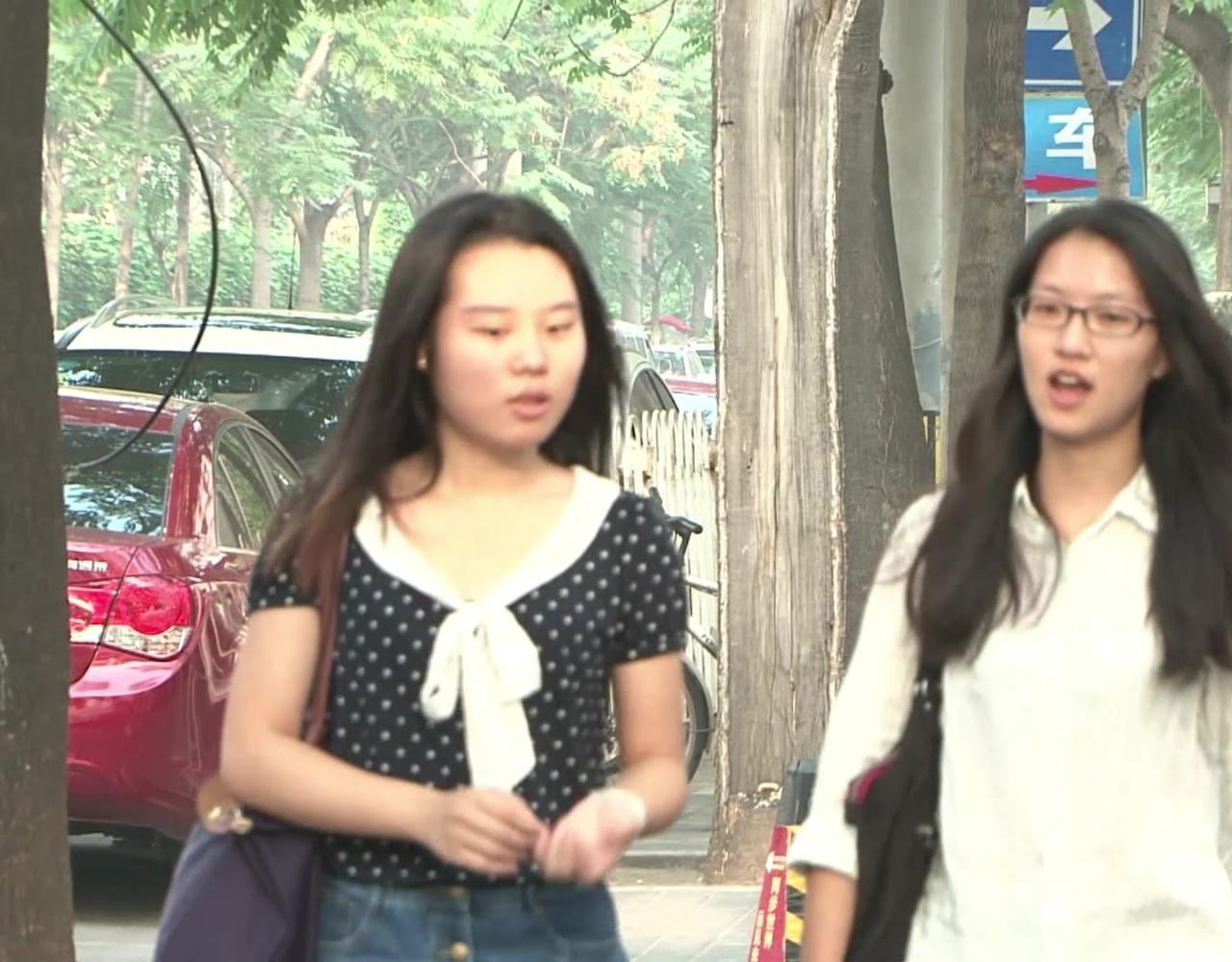 台湾女孩在北京实习:今后希望到大型公司工作