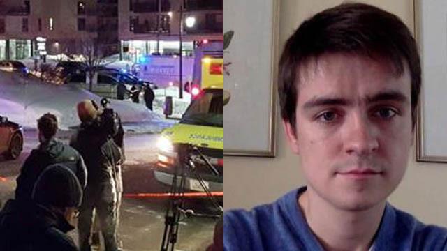 加拿大警方确认魁北克清真寺枪击案嫌疑人